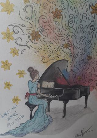 """Zuzanna Borzykowska """"Ostatni koncert - ostatnie brzmienie"""""""