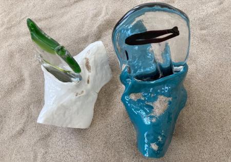 """Playground"" Barbary Falender. Ceramika i szkło."