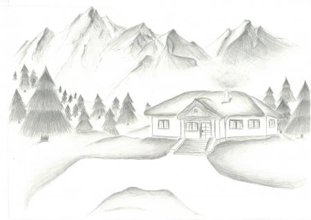 "Aleksandra Hamza ""Dom w górach"""