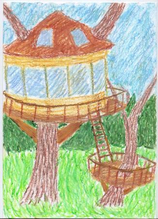 """Alicja Murawska """"Domek na drzewie"""""""
