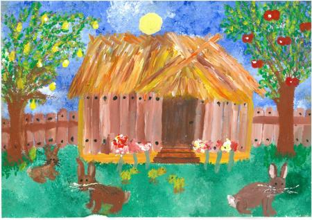 """Wioletta Woźniak """"Drewniany domek pod słońcem"""""""