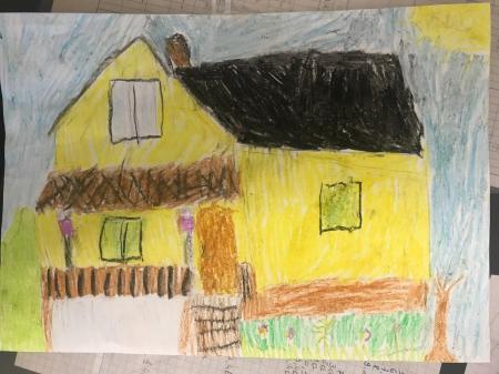 """Oliwia Derleta """"Domek na wzgórzu"""""""