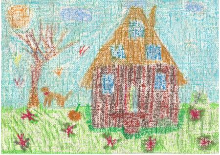 """Maja Weisberg """"Drewniany dom"""""""