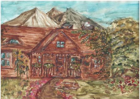 """Maja Dorodzińska  """"Mój drewniany, stary dom"""""""