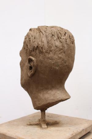 Sabina Krysik, Rzeźba - z tyłu