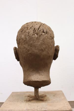 Sabina Krysik, Rzeźba - tył