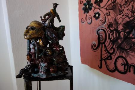 Rzeźba na ekspozycji