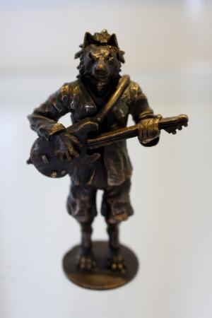 Mateusz Woźniak - figurka z wystawy MetaLove