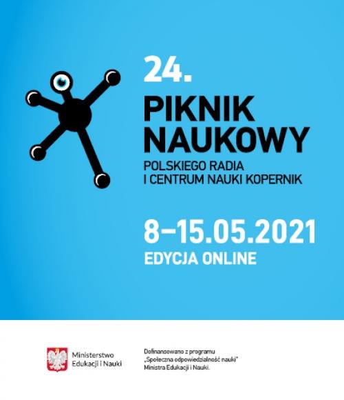 """Cover 24. Pikniku Naukowego """"Klimat i My"""" 2021"""
