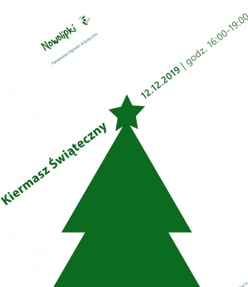 Plakat Kiermasz Świąteczny 2020
