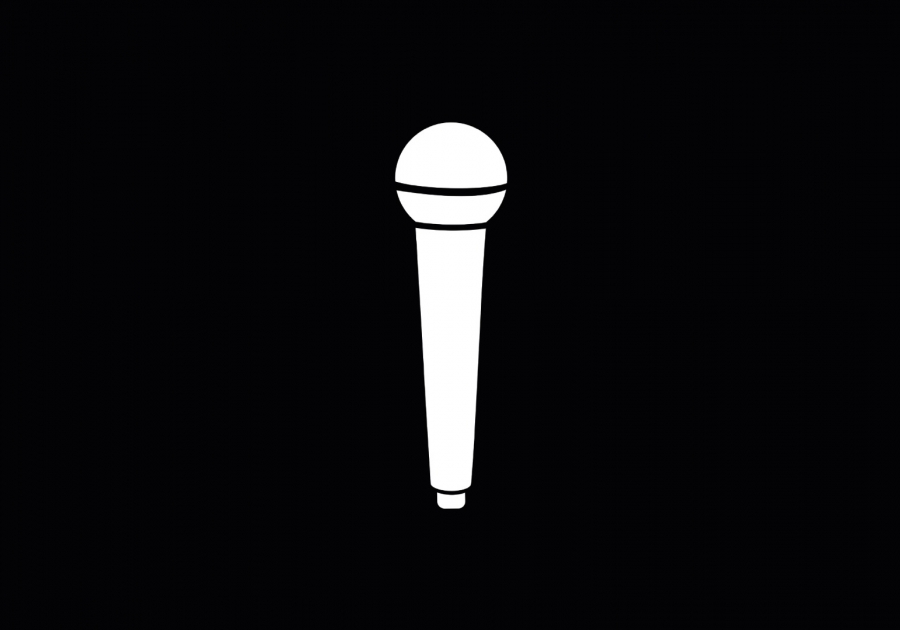 Ikona zajęć wokalnych. Obraz OpenClipart-Vectors z Pixabay.