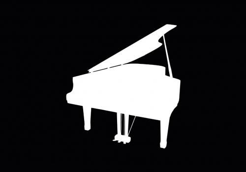 Ikona z fortepianem. Źródło pixabay