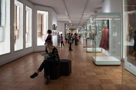 Zajęcia z Wiedzy o sztuce w Muzeum Narodowym w 2017 roku. Fot. E. Sokołowska