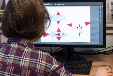 Pracownia Projektowania Graficznego i Przestrzennego.