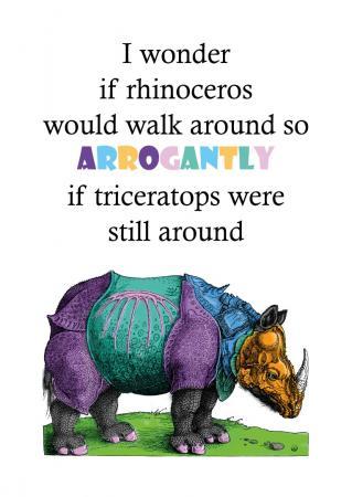 """Zuzanna Kopczewska  """"Rhinoceros"""""""